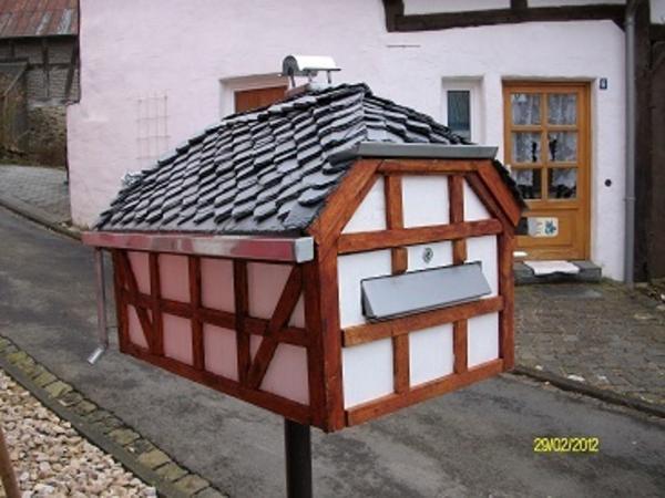 sch ner briefkasten in walsdorf handarbeit basteln. Black Bedroom Furniture Sets. Home Design Ideas