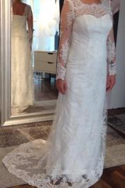 Schönes französischen Hochzeitskleid