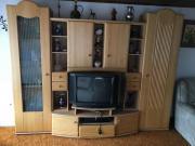 Schrankwand Wohnzimmer