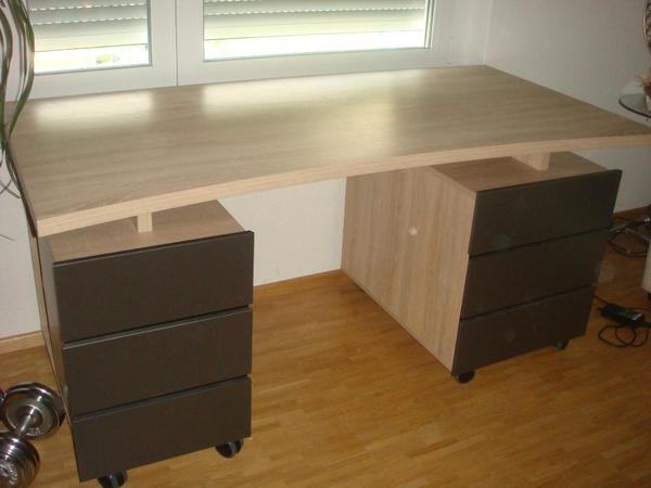 komplette b roeinrichtung b roausstattung gebraucht kaufen. Black Bedroom Furniture Sets. Home Design Ideas