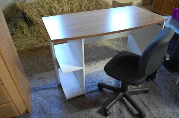 schreibtisch mit stuhl kaufen gebraucht und g nstig. Black Bedroom Furniture Sets. Home Design Ideas