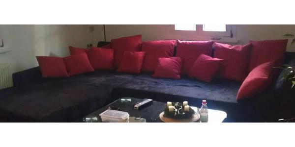 schwarze couch in altach polster sessel couch kaufen und verkaufen ber private kleinanzeigen. Black Bedroom Furniture Sets. Home Design Ideas