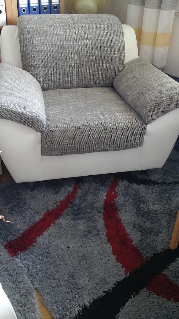 Sessel weiss neu und gebraucht kaufen bei for Wohnlandschaft sitztiefe 90 cm