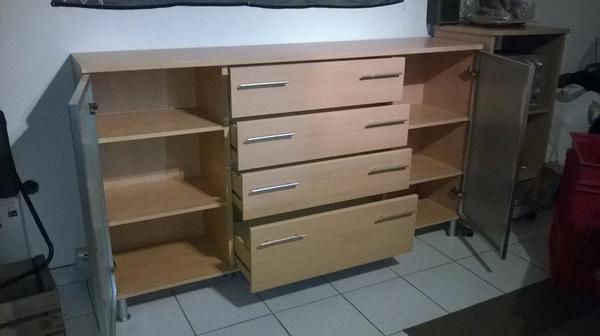 sideboard buche hell in eggenstein leopoldshafen. Black Bedroom Furniture Sets. Home Design Ideas