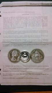 Silbermünze, 1 Canada
