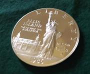 Silbermünze United States
