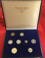 Silbermünzen-Sammlung 8