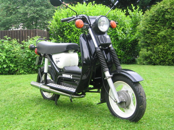 simson sr 50 b4 roller 60 km h zulassung in mainz. Black Bedroom Furniture Sets. Home Design Ideas