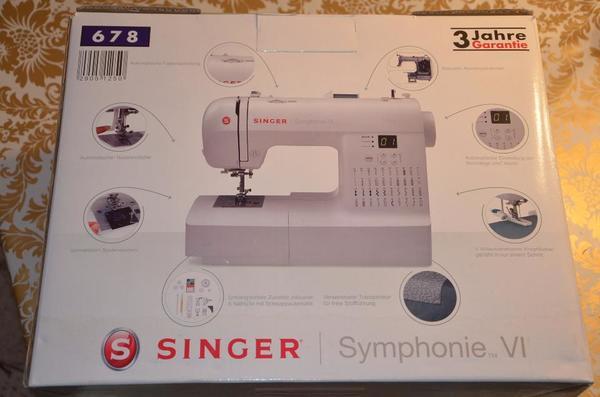 nähmaschine singer  neu und gebraucht kaufen bei dhd24com ~ Nähmaschine Singer Symphonie