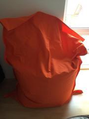 Sitzsack in orange