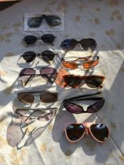 Sonnenbrillen verschieden
