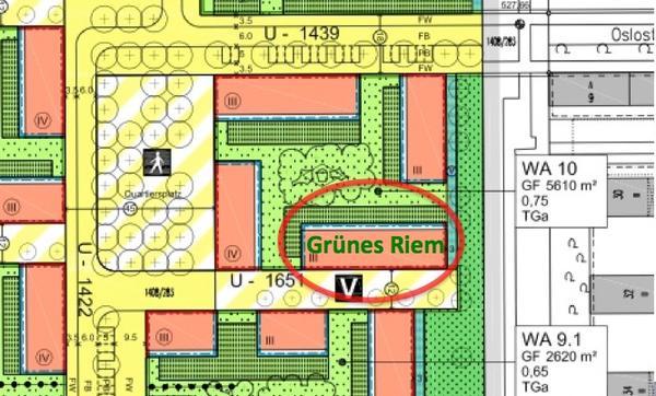 Stadthaus 150 m2 in baugemeinschaft gr nes riem for Wohnzimmer riem