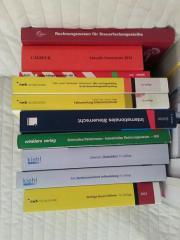 Steuerlehre Prüfung Bücher