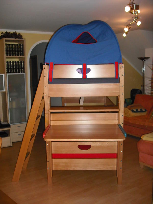 stockbett von paidi modell varietta kinder stockbett in. Black Bedroom Furniture Sets. Home Design Ideas