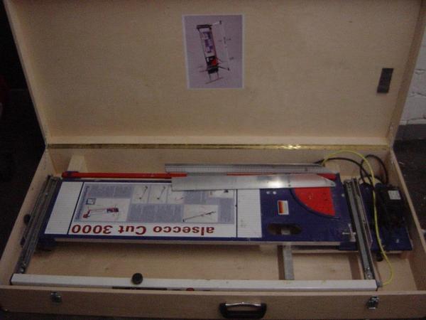 Styropor Schneidemaschine Alsecco Cut 3000 Im Koffer Bj