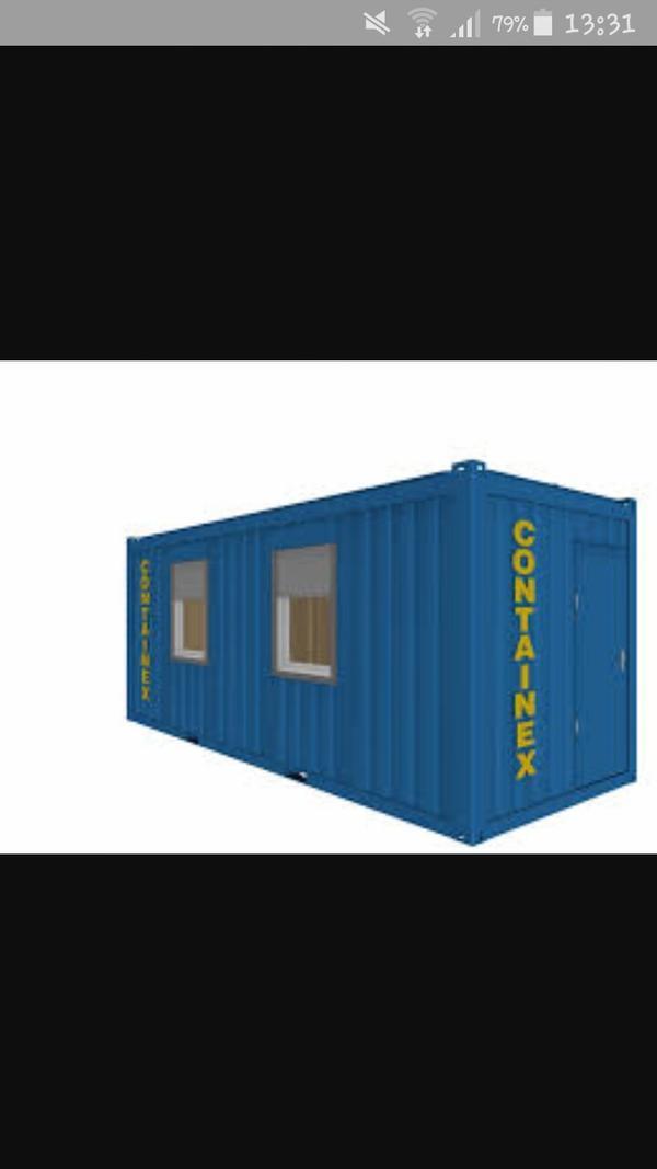 Suche container ober gartenhaus in krumbach for Container gartenhaus