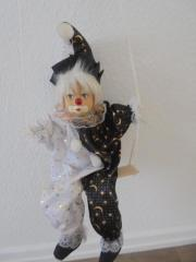 Süßer Porzellan-Clown
