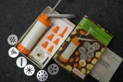 Teigpresse für Weihnachtsgebäck
