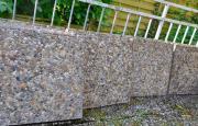 Terassensteine, Waschbeton Terassenplatten