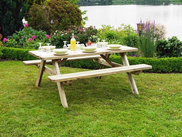 Zebra Gartenmobel Set : Tisch Bank Kombination Modell Allround in Gresse  Gartenmöbel kaufen