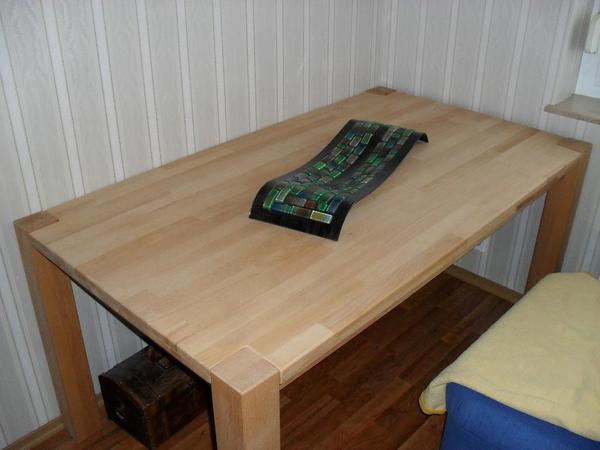 tischplatte massivem neu und gebraucht kaufen bei. Black Bedroom Furniture Sets. Home Design Ideas
