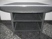 Tisch grau Granit,