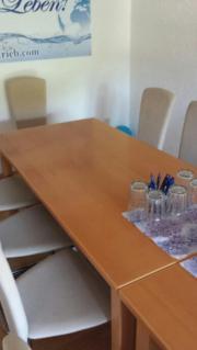Tisch Holz Buchefarben