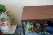 Tisch Metallgstell 120x60x76cm