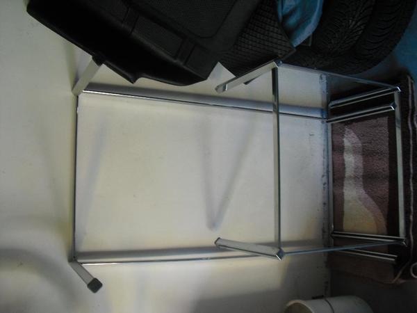tischgestell chrom gebraucht kaufen nur 2 st bis 70. Black Bedroom Furniture Sets. Home Design Ideas