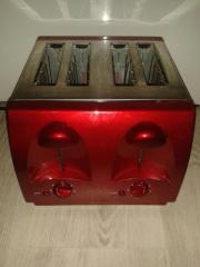 Toaster / 4 Scheiben -
