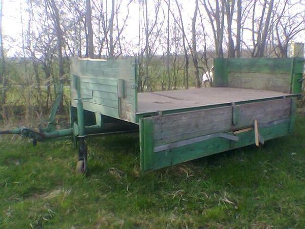traktor anh nger einachser schlepper stahlboden miststreuer in wendlingen traktoren. Black Bedroom Furniture Sets. Home Design Ideas