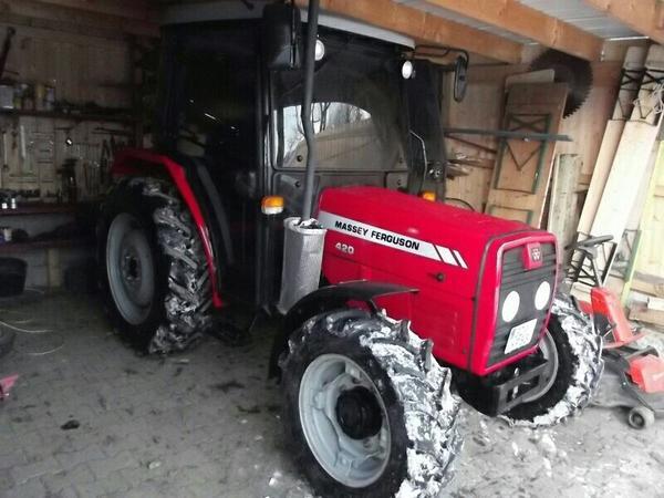 traktor massey ferguson 420 65 ps 180 h in kohlberg. Black Bedroom Furniture Sets. Home Design Ideas