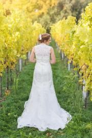 Traumhaftes Brautkleid mit