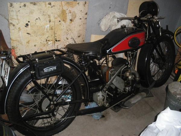 triumph oldtimer motorrad in bramsche oldtimer. Black Bedroom Furniture Sets. Home Design Ideas