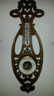 uraltes Barometer Wetterstation