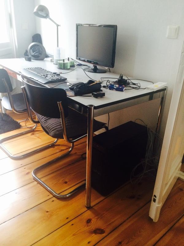 eckschreibtisch neu und gebraucht kaufen bei. Black Bedroom Furniture Sets. Home Design Ideas
