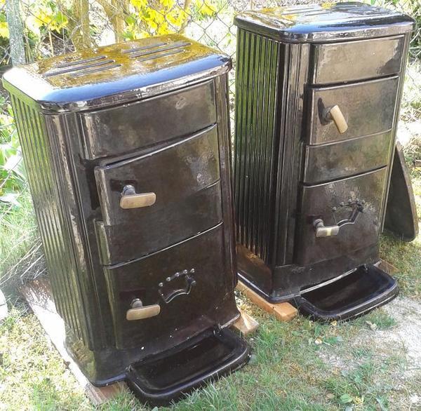 2x buderus alles brenner holz brenn zimmer guss ofen pictures. Black Bedroom Furniture Sets. Home Design Ideas