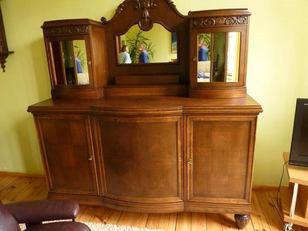 verkaufe 6antike m bel buffet vertiko kleider schr nke in dormagen schr nke sonstige. Black Bedroom Furniture Sets. Home Design Ideas