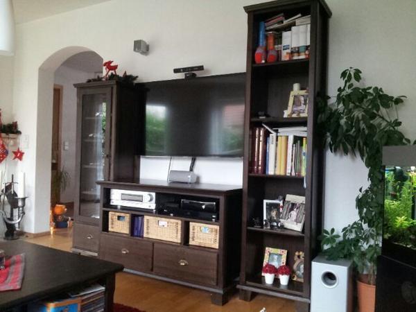 Wohnzimmer Komplett Gebraucht : Markör Wohnzimmer Farbe schwarzbraun ...