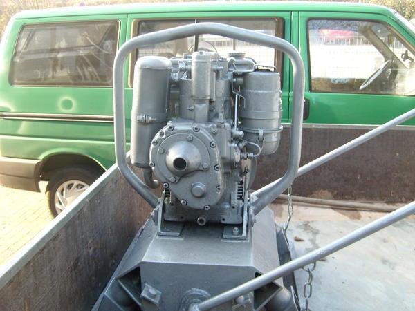 Verkaufe R Ttelplatte Diesel 198 Kg Guter Zustand