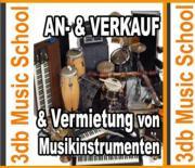 Vermietung von Musikinstrumenten