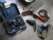 verschiedene Bohrmaschinen Winkelschleifer (
