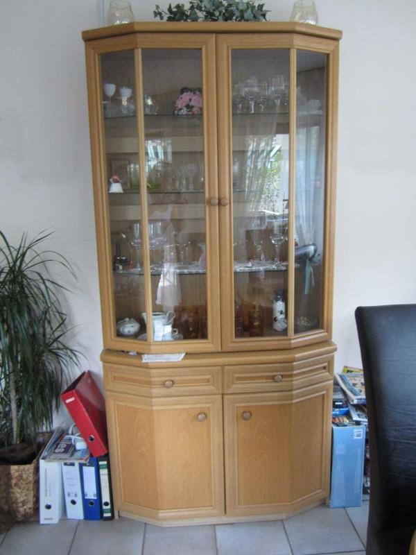 vitrine eiche hell in heiningen wohnzimmerschr228nke