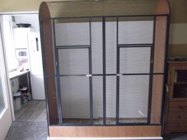 vogelvoliere voliere alu gro in berlin v gel kaufen und verkaufen ber private kleinanzeigen. Black Bedroom Furniture Sets. Home Design Ideas