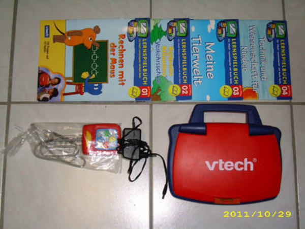 vtech lerncomputer lesson 3 wie neu in bad rappenau. Black Bedroom Furniture Sets. Home Design Ideas