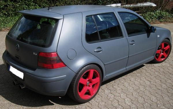 vw golf 4 2 3 gti v5 highline r32 paket gun metal grey. Black Bedroom Furniture Sets. Home Design Ideas
