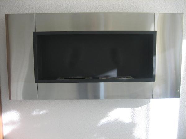 wandkamin bio ethanol edelstahl in trossingen fen heizung klimager te kaufen und verkaufen. Black Bedroom Furniture Sets. Home Design Ideas