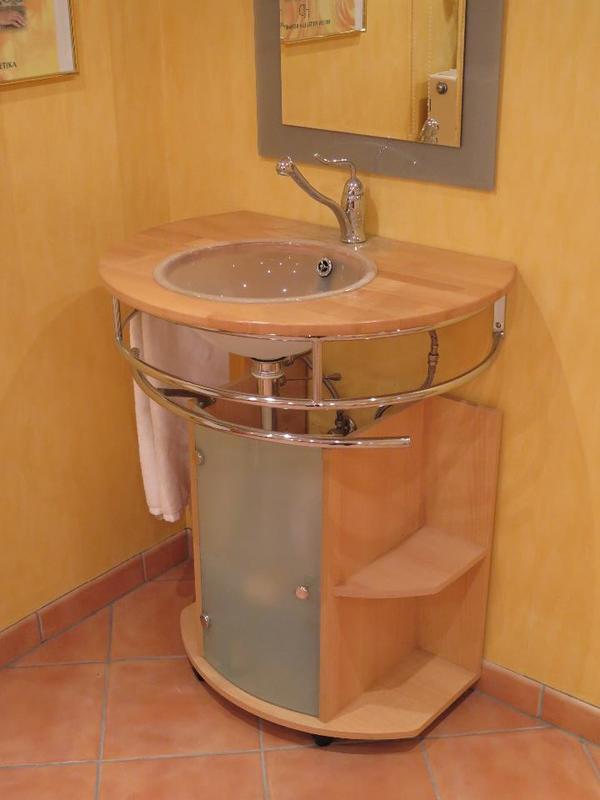 waschtisch mit unterschrank in mannheim bad einrichtung. Black Bedroom Furniture Sets. Home Design Ideas