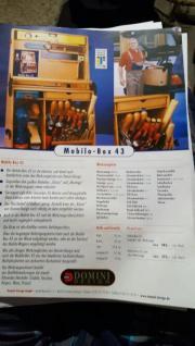 Werkzeugkasten aus Buchenholz