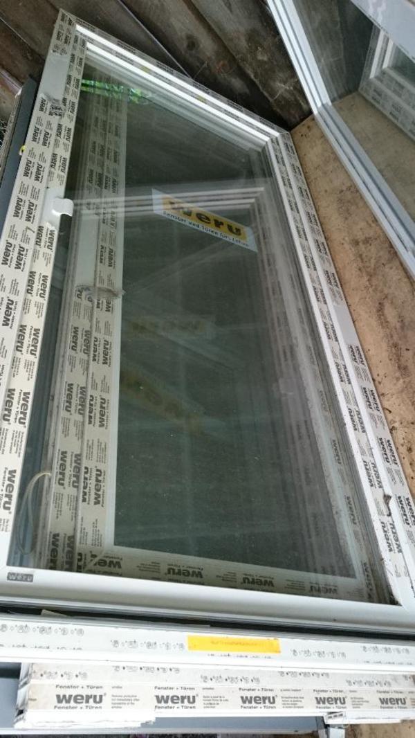 weru balkont r kunstofft r kunstoff t r castello wei 2230x1095mm in ha loch fenster. Black Bedroom Furniture Sets. Home Design Ideas